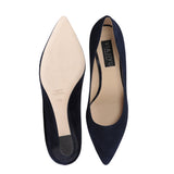 TRENTO - Velukid + Lady Midnight Noir, VIAJIYU - Women's Hand Made Sustainable Luxury Shoes. Made in Italy. Made to Order.
