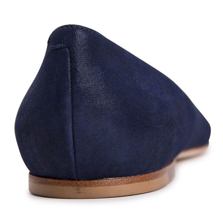 SIENA - Hydra Midnight, VIAJIYU - Women's Hand Made Sustainable Luxury Shoes. Made in Italy. Made to Order.