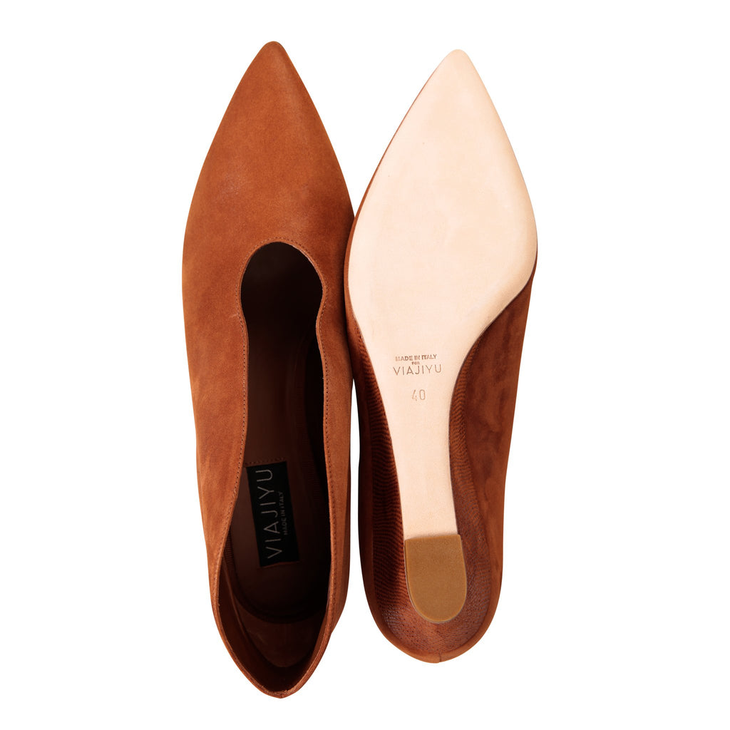 URBINO - Hydra Dune + Karung, VIAJIYU - Women's Hand Made Sustainable Luxury Shoes. Made in Italy. Made to Order.