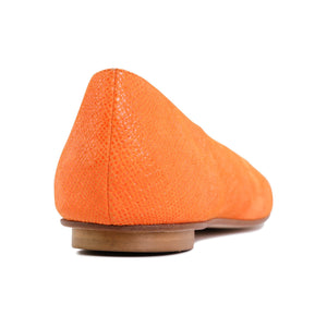 VENEZIA - Karung Mandarin, VIAJIYU - Women's Hand Made Sustainable Luxury Shoes. Made in Italy. Made to Order.