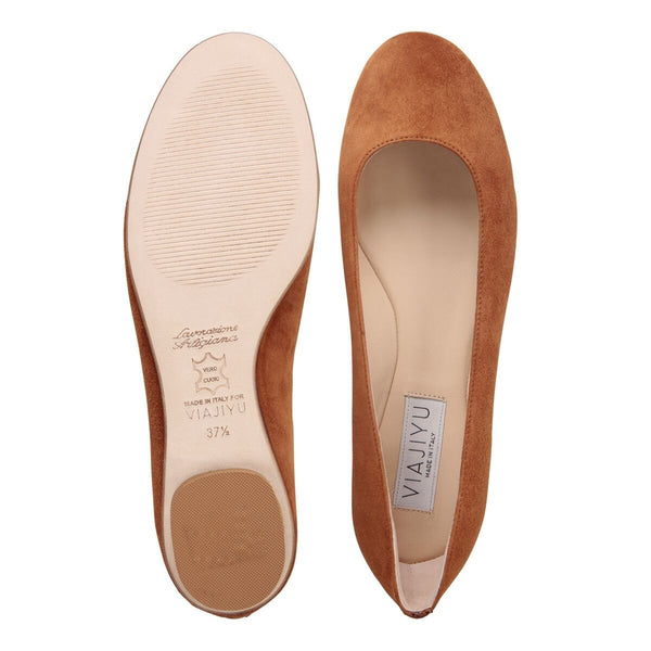 Shoe, VIAJIYU - Women's Hand Crafted Luxury Flats. Made in Italy. Made to Order. Design your own.