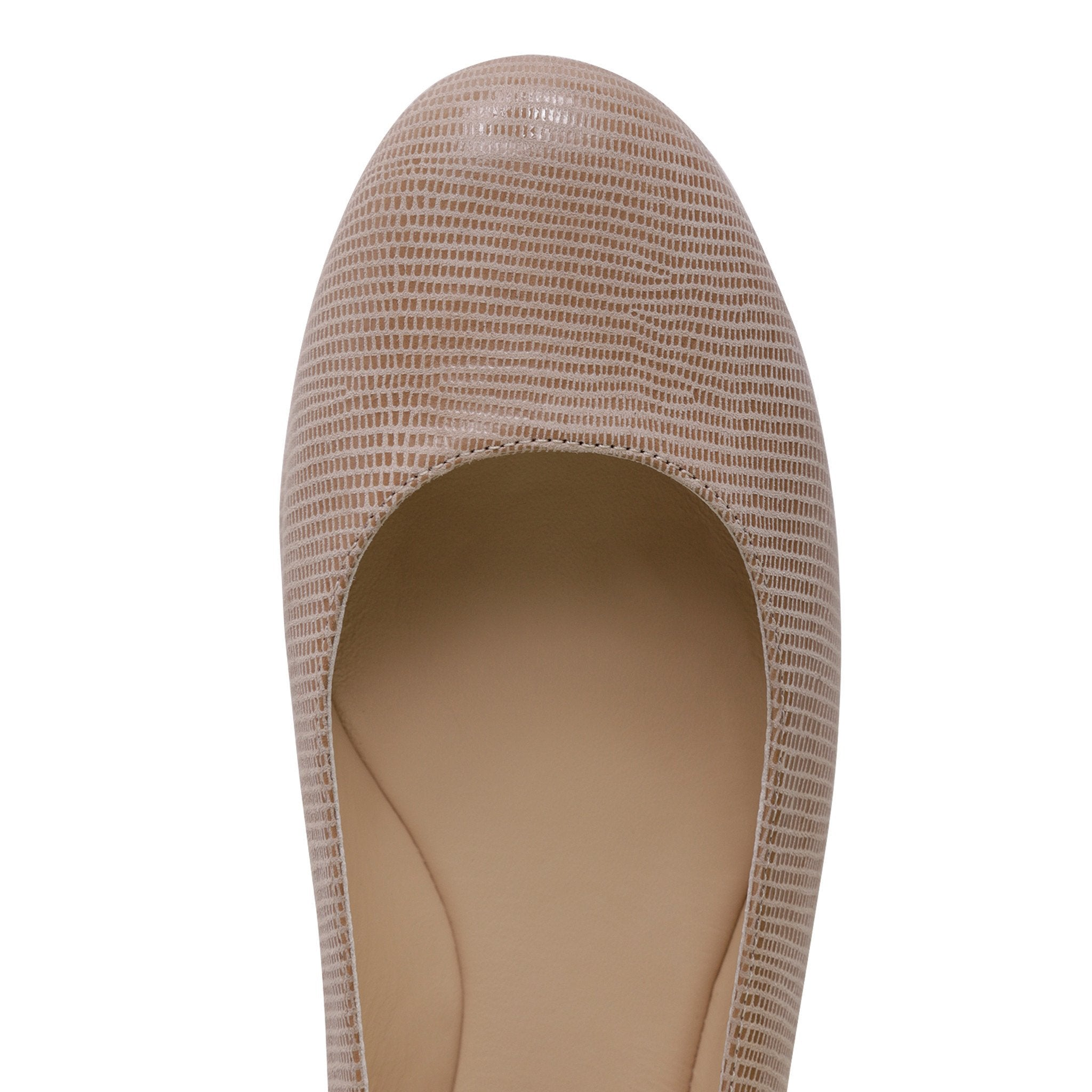 VENEZIA - Varanus Tan, VIAJIYU - Women's Hand Made Sustainable Luxury Shoes. Made in Italy. Made to Order.