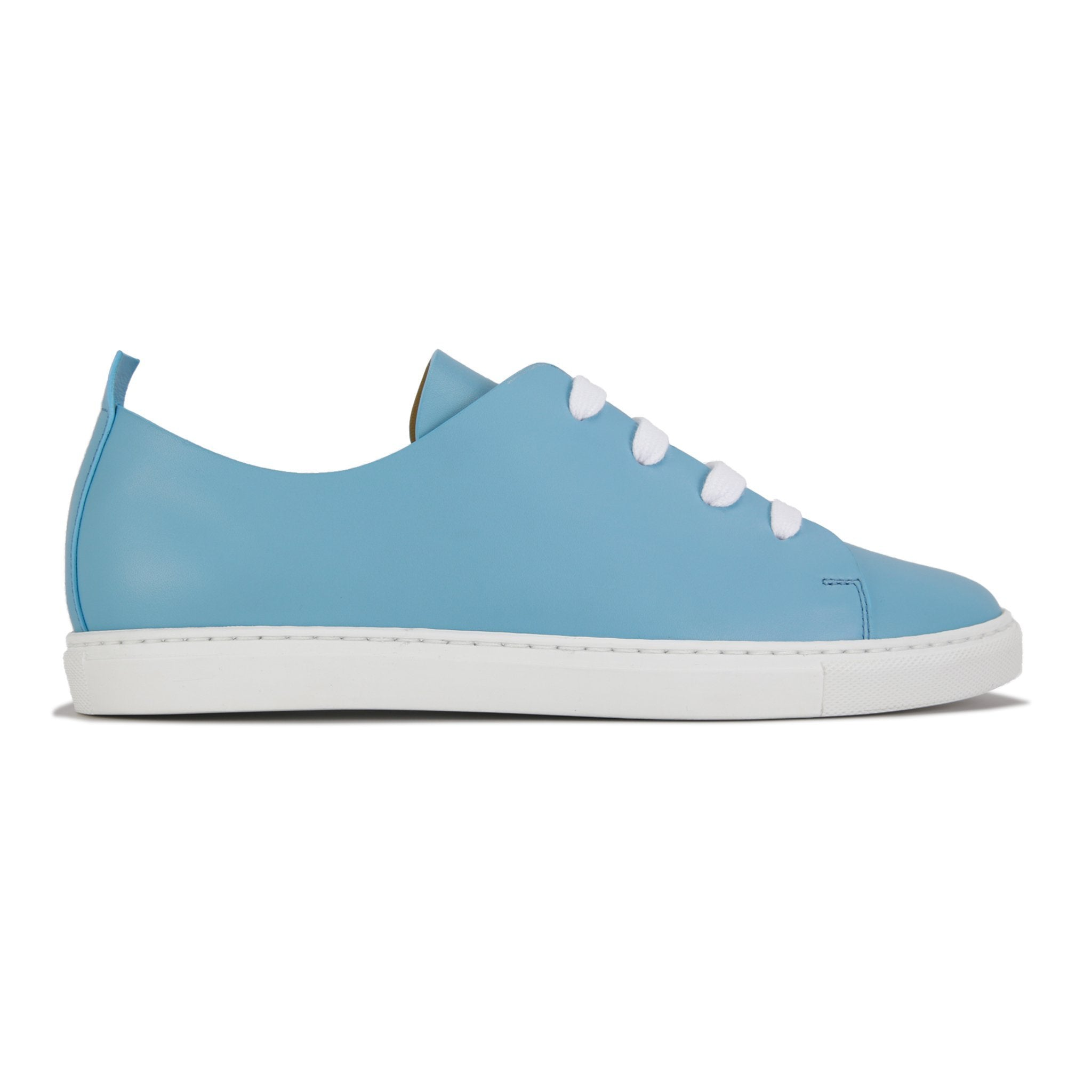 CAPALBIO - Pompeii Baby Blue, VIAJIYU - Women's Hand Made Sustainable Luxury Shoes. Made in Italy. Made to Order.