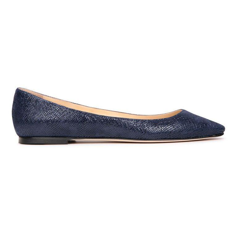 SIENA - Karung Midnight, VIAJIYU - Women's Hand Made Sustainable Luxury Shoes. Made in Italy. Made to Order.