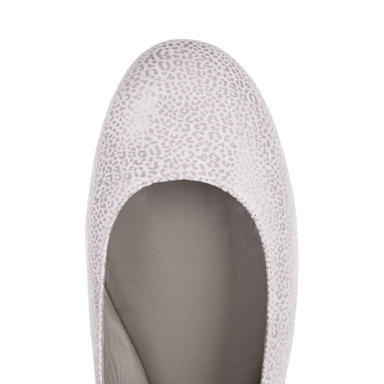 VENEZIA - Savannah Grigio, VIAJIYU - Women's Hand Made Sustainable Luxury Shoes. Made in Italy. Made to Order.