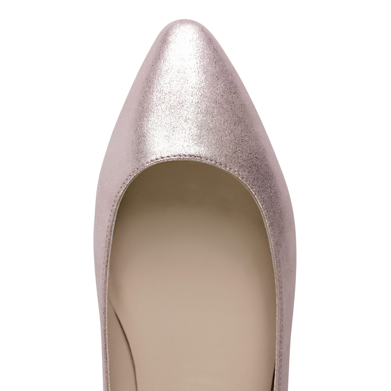 SIENA - Burma Rose Gold, VIAJIYU - Women's Hand Made Sustainable Luxury Shoes. Made in Italy. Made to Order.