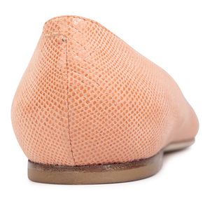 SIENA - Karung Rosy Cheeks, VIAJIYU - Women's Hand Made Sustainable Luxury Shoes. Made in Italy. Made to Order.