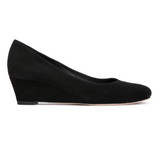 BERGAMO - Velukid Nero, VIAJIYU - Women's Hand Made Sustainable Luxury Shoes. Made in Italy. Made to Order.