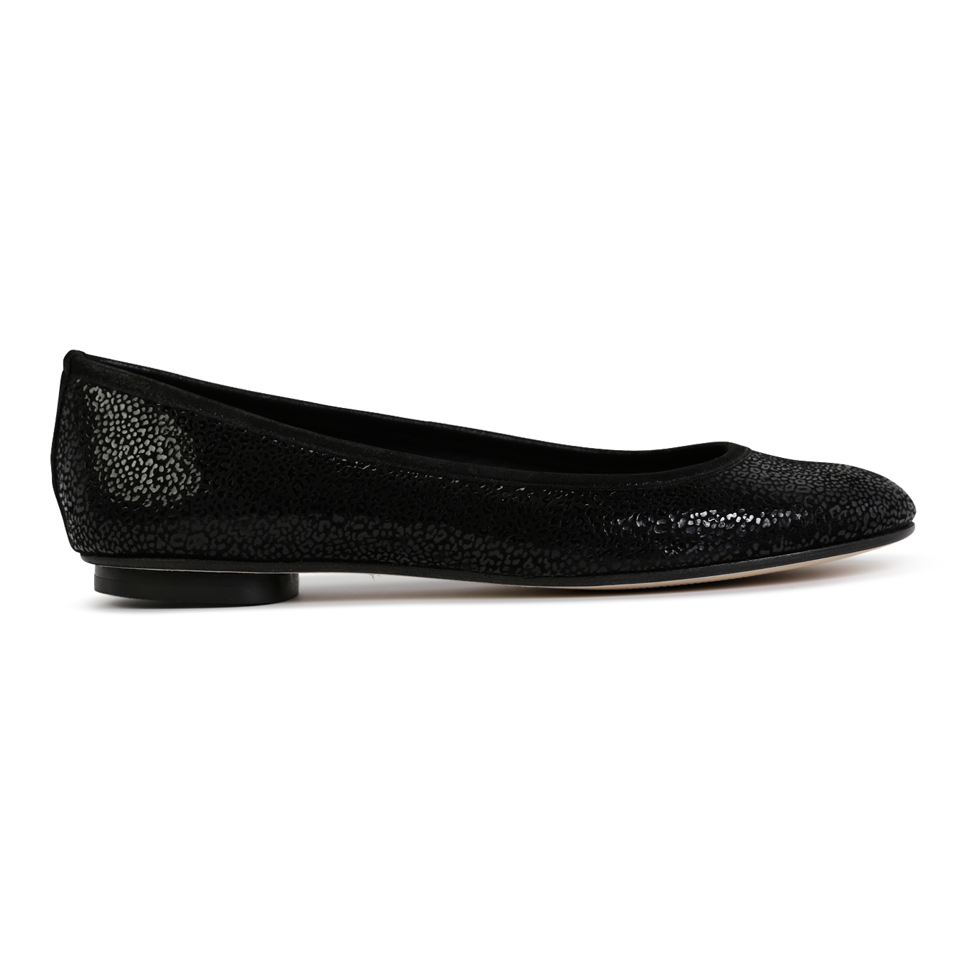 VENEZIA - Savannah Nero + Hydra Trim, VIAJIYU - Women's Hand Made Sustainable Luxury Shoes. Made in Italy. Made to Order.