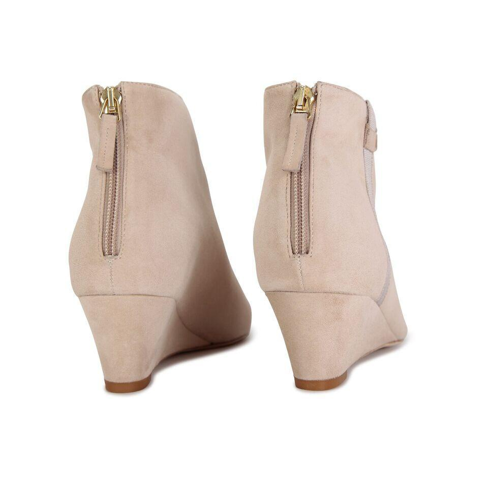 OLBIA - Velukid Tan + Grosgrain Ash, VIAJIYU - Women's Hand Made Sustainable Luxury Shoes. Made in Italy. Made to Order.