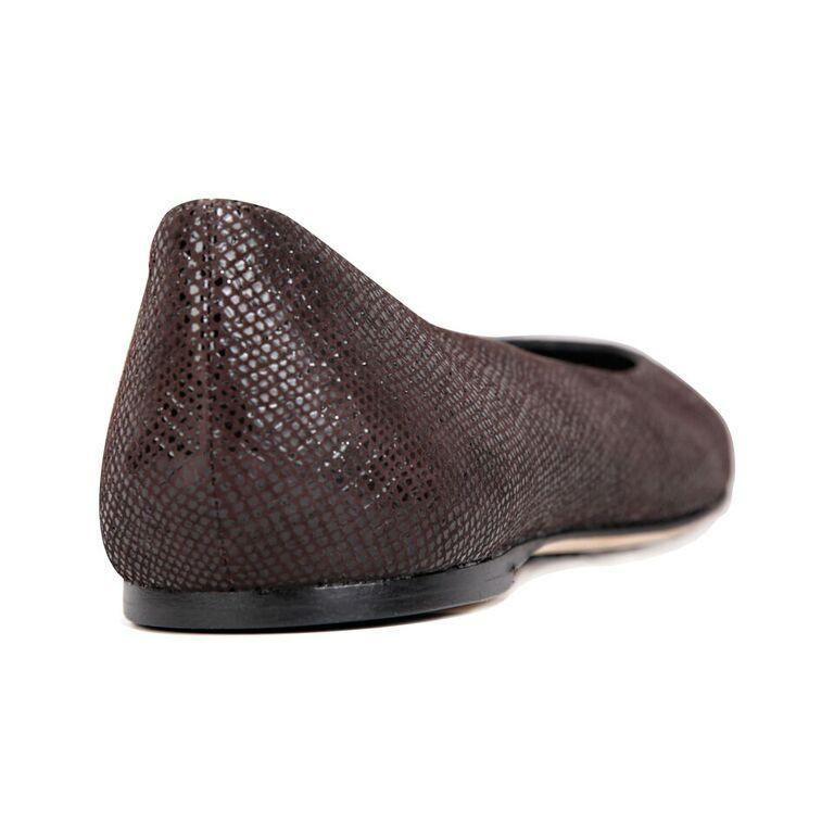 VENEZIA - Karung Espresso, VIAJIYU - Women's Hand Made Sustainable Luxury Shoes. Made in Italy. Made to Order.