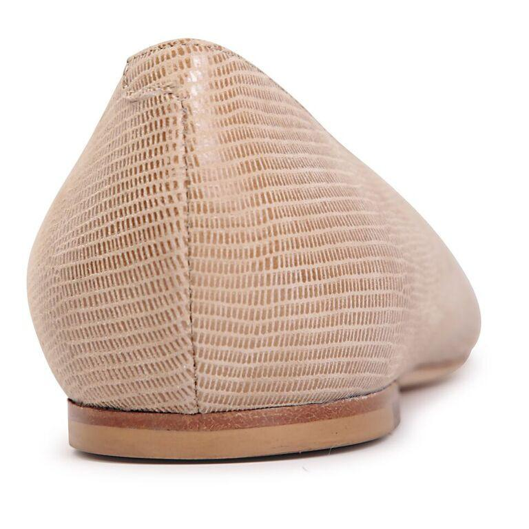 SIENA - Varanus Tan, VIAJIYU - Women's Hand Made Sustainable Luxury Shoes. Made in Italy. Made to Order.