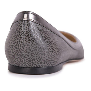 MILANO - Savannah Anthracite + Iron, VIAJIYU - Women's Hand Made Sustainable Luxury Shoes. Made in Italy. Made to Order.