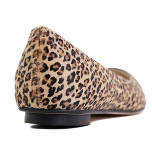 COMO - Calf Hair Minipard, VIAJIYU - Women's Hand Made Sustainable Luxury Shoes. Made in Italy. Made to Order.