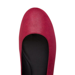 VENEZIA - Hydra Bordeaux, VIAJIYU - Women's Hand Made Sustainable Luxury Shoes. Made in Italy. Made to Order.
