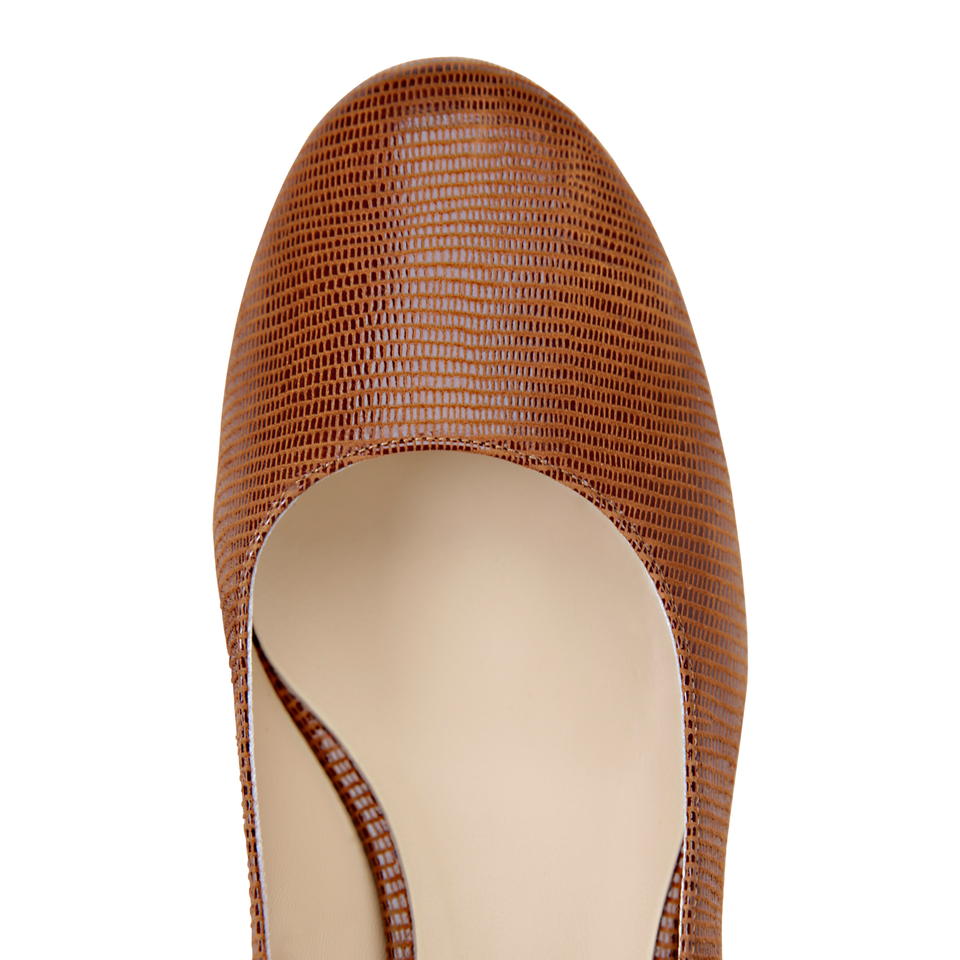 BERGAMO - Varanus Dune, VIAJIYU - Women's Hand Made Sustainable Luxury Shoes. Made in Italy. Made to Order.