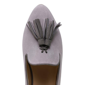 PARMA (faux suede), VIAJIYU - Women's Hand Made Sustainable Luxury Shoes. Made in Italy. Made to Order.