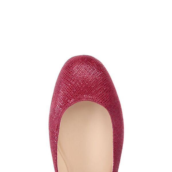 TORINO - Karung Bordeaux + Patent Nero, VIAJIYU - Women's Hand Made Sustainable Luxury Shoes. Made in Italy. Made to Order.