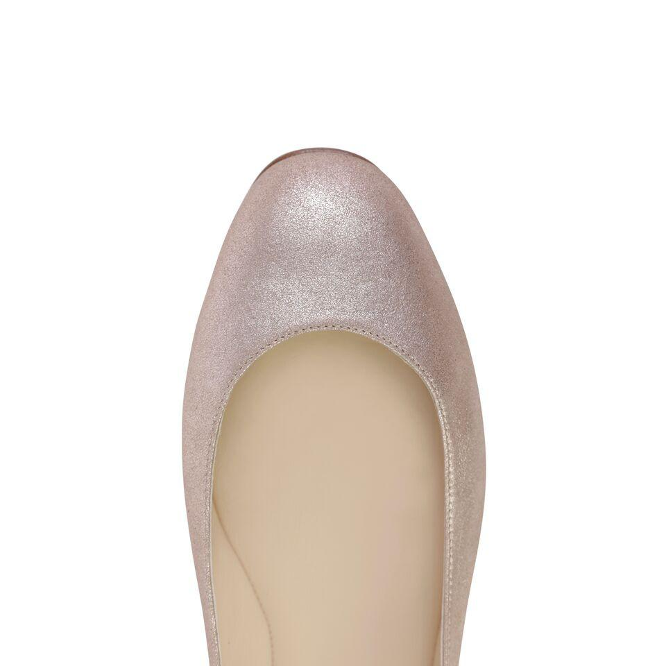 TORINO - Burma Rose Gold, VIAJIYU - Women's Hand Made Sustainable Luxury Shoes. Made in Italy. Made to Order.