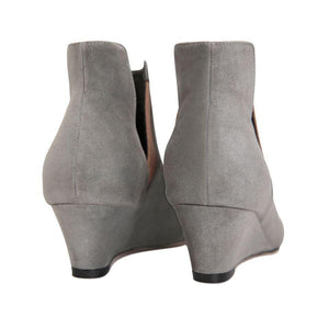 SYRENE (faux suede), VIAJIYU - Women's Hand Made Sustainable Luxury Shoes. Made in Italy. Made to Order.