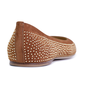 VENEZIA (faux suede), VIAJIYU - Women's Hand Made Sustainable Luxury Shoes. Made in Italy. Made to Order.