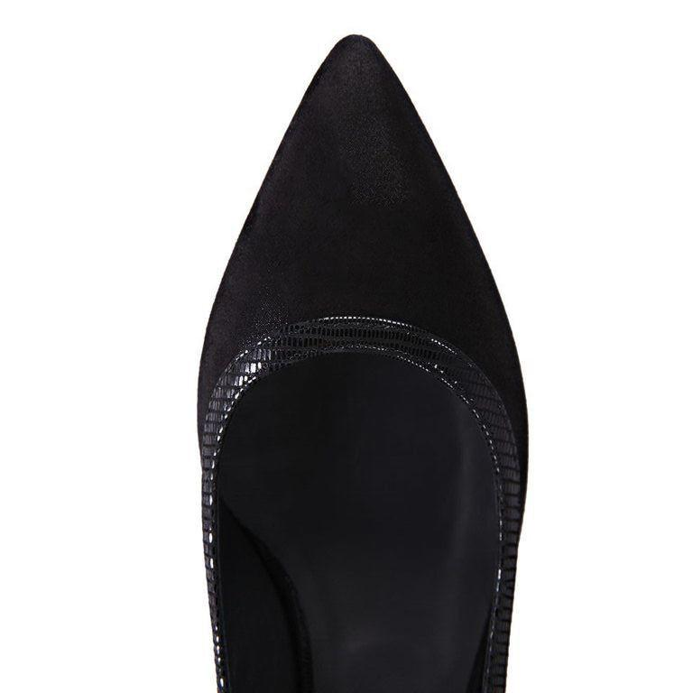 TRENTO - Hydra + Varanus Nero Trim + Wedge, VIAJIYU - Women's Hand Made Sustainable Luxury Shoes. Made in Italy. Made to Order.