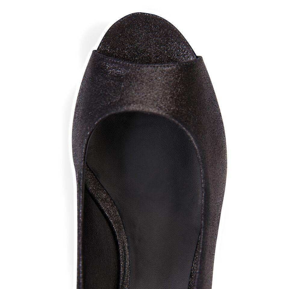 SARDINIA - Burma Nero, VIAJIYU - Women's Hand Made Sustainable Luxury Shoes. Made in Italy. Made to Order.