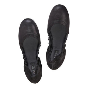 PORTOFINO - Hydra Nero, VIAJIYU - Women's Hand Made Sustainable Luxury Shoes. Made in Italy. Made to Order.