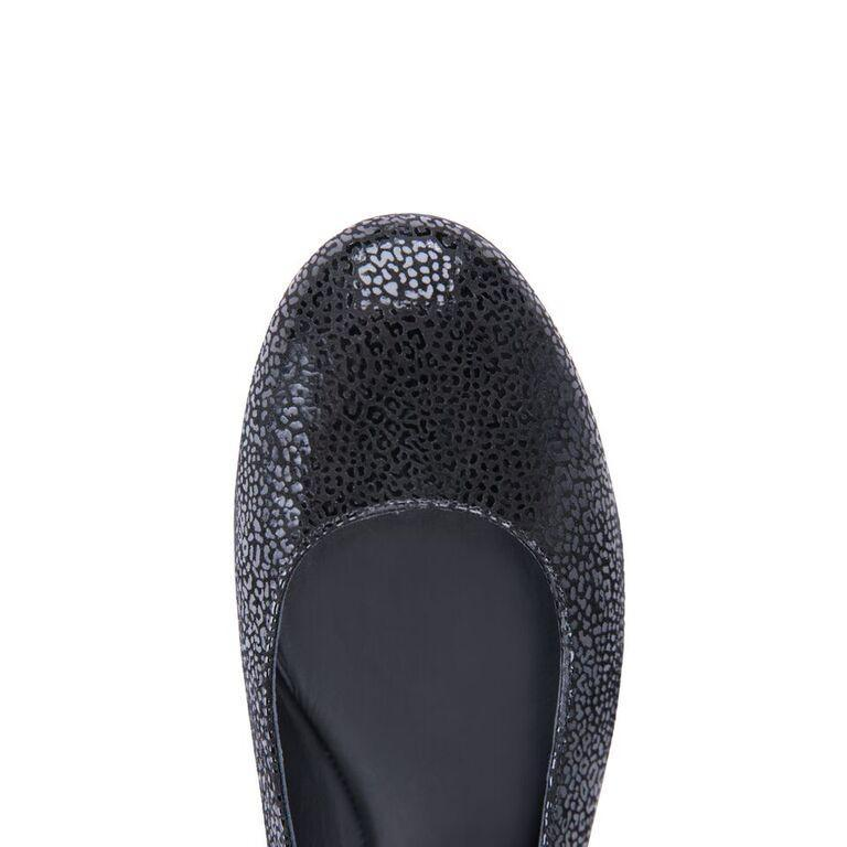 VENEZIA - Savannah Nero, VIAJIYU - Women's Hand Made Sustainable Luxury Shoes. Made in Italy. Made to Order.