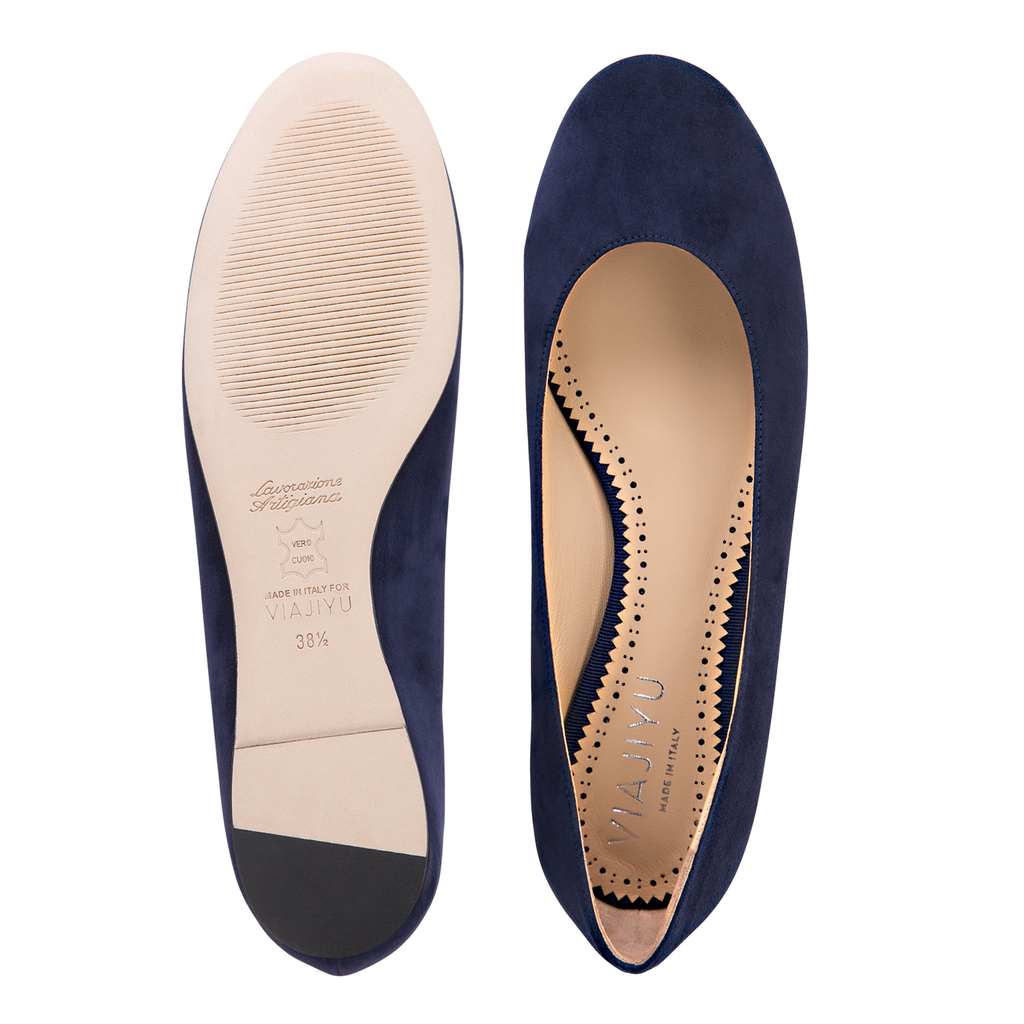 ROMA - Velukid Midnight, VIAJIYU - Women's Hand Made Sustainable Luxury Shoes. Made in Italy. Made to Order.