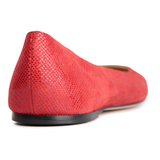 VENEZIA - Karung Rosso, VIAJIYU - Women's Hand Made Sustainable Luxury Shoes. Made in Italy. Made to Order.