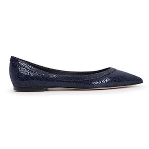 MILANO - Savannah Midnight, VIAJIYU - Women's Hand Made Sustainable Luxury Shoes. Made in Italy. Made to Order.