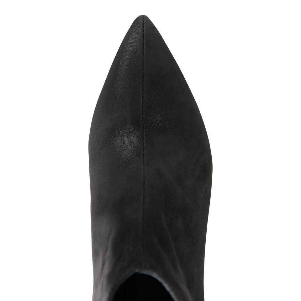 SYRENE - Hydra + Grosgrain Nero, VIAJIYU - Women's Hand Made Sustainable Luxury Shoes. Made in Italy. Made to Order.