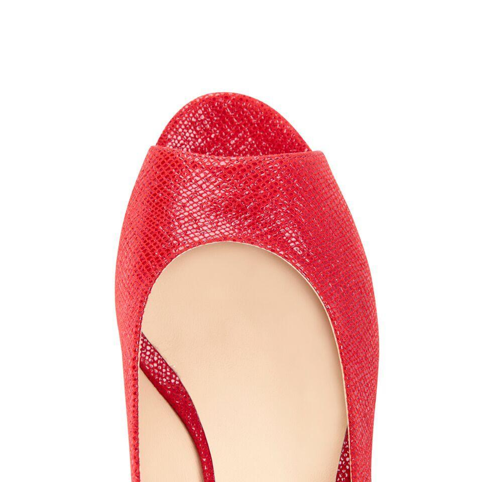 SARDINIA - Karung Rosso, VIAJIYU - Women's Hand Made Sustainable Luxury Shoes. Made in Italy. Made to Order.