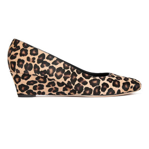 BERGAMO - Calf Hair Congo, VIAJIYU - Women's Hand Made Sustainable Luxury Shoes. Made in Italy. Made to Order.
