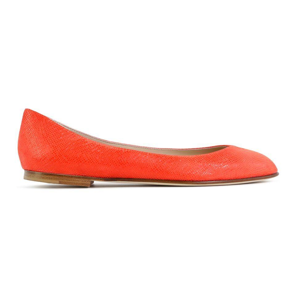 TORINO - Karung Tuscan Sunset, VIAJIYU - Women's Hand Made Sustainable Luxury Shoes. Made in Italy. Made to Order.