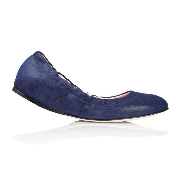 PORTOFINO - Hydra Midnight, VIAJIYU - Women's Hand Made Sustainable Luxury Shoes. Made in Italy. Made to Order.