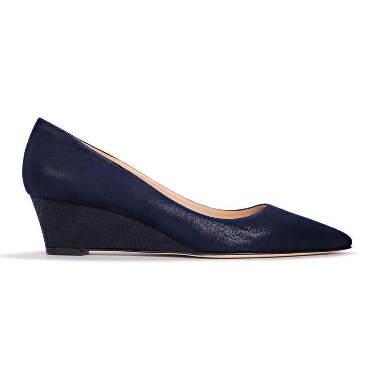 TRENTO - Hydra + Karung Midnight, VIAJIYU - Women's Hand Made Sustainable Luxury Shoes. Made in Italy. Made to Order.
