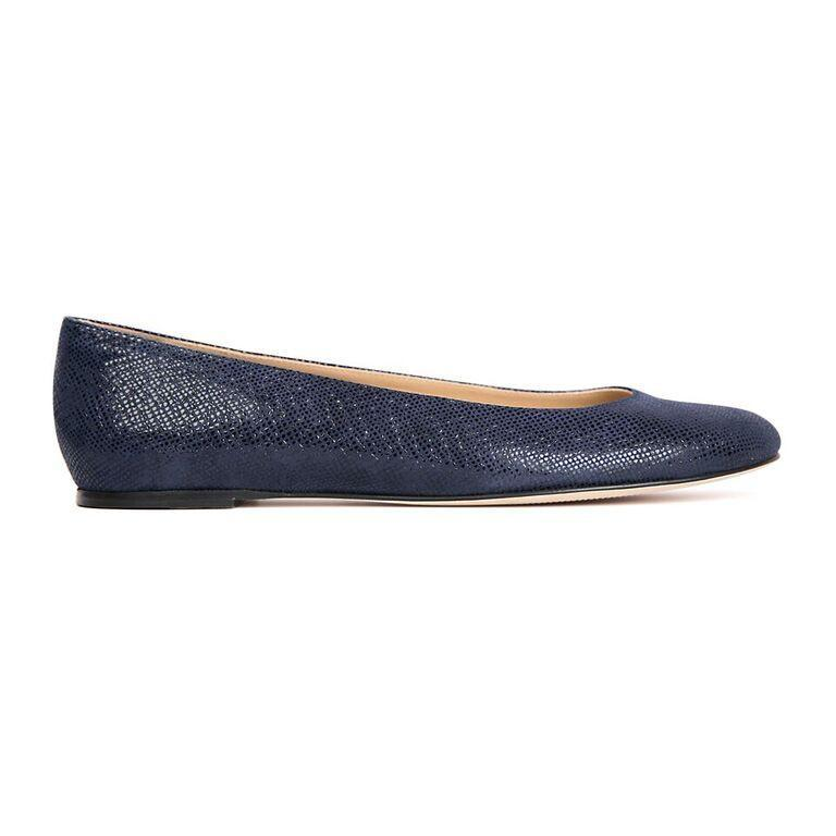 ROMA - Karung Midnight, VIAJIYU - Women's Hand Made Sustainable Luxury Shoes. Made in Italy. Made to Order.