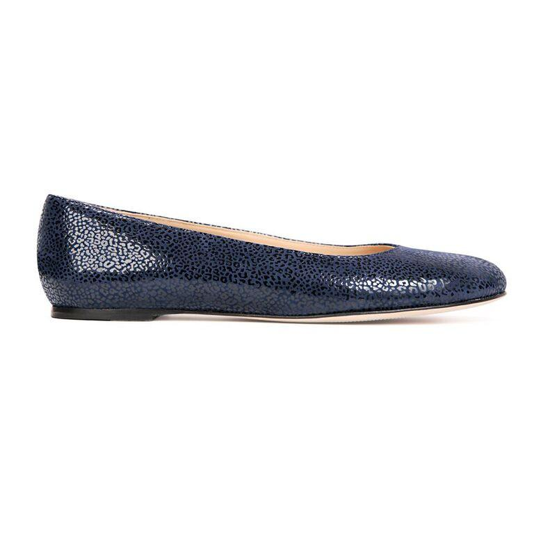 ROMA - Savannah Midnight, VIAJIYU - Women's Hand Made Sustainable Luxury Shoes. Made in Italy. Made to Order.