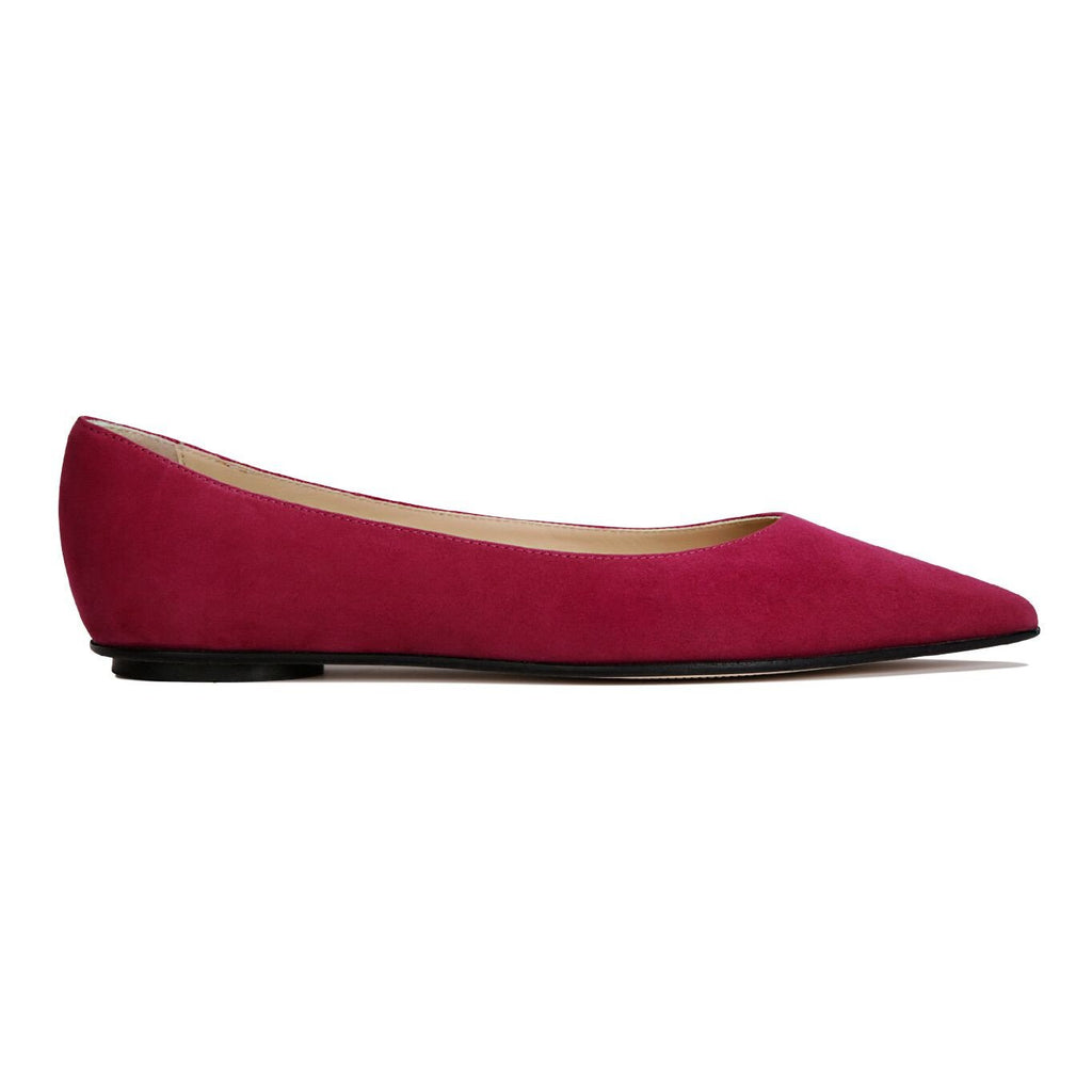 COMO - Hydra Bordeaux, VIAJIYU - Women's Hand Made Sustainable Luxury Shoes. Made in Italy. Made to Order.