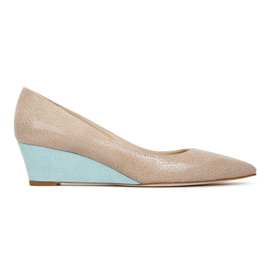 TRENTO - Savannah Tan + Savannah Mint - VIAJIYU Shoes