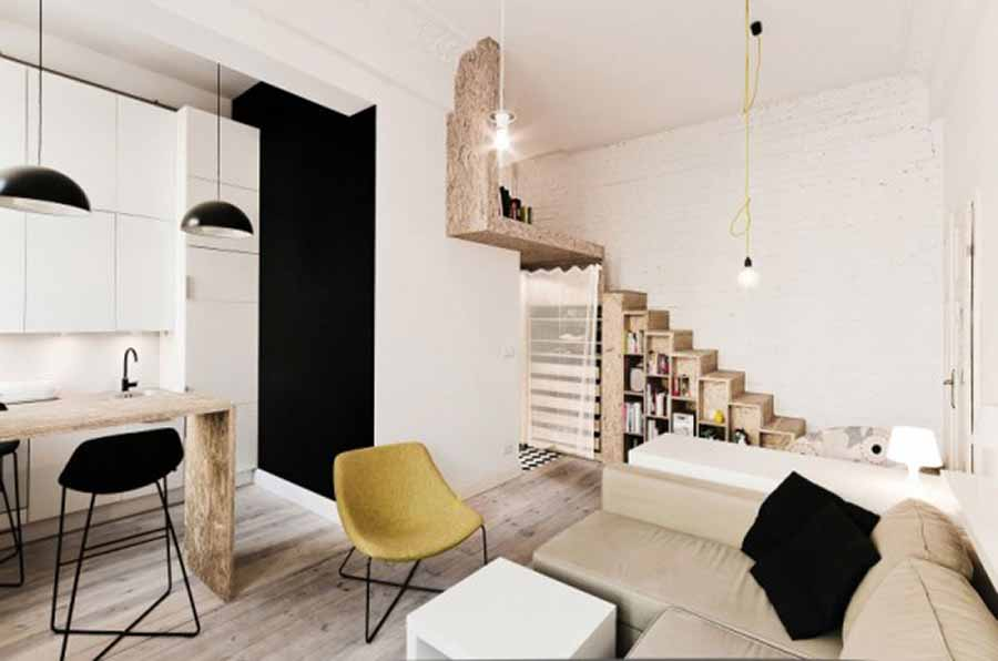 Interior design ideas for small apartments under 50 square meters - The HipVan Blog