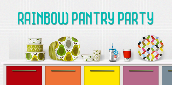 Rainbow Pantry Party