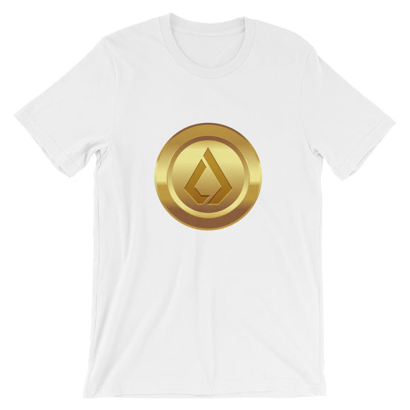 Lisk coin cryptocurrency Short-Sleeve Unisex T-Shirt