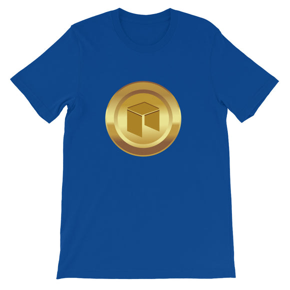 Neo cryptocurrency coin Short-Sleeve Unisex T-Shirt