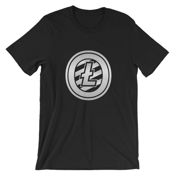 Litecoin cryptocurrency Short-Sleeve Unisex T-Shirt