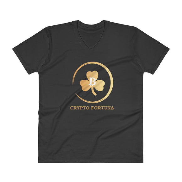 Crypto Fortuna V-Neck T-Shirt