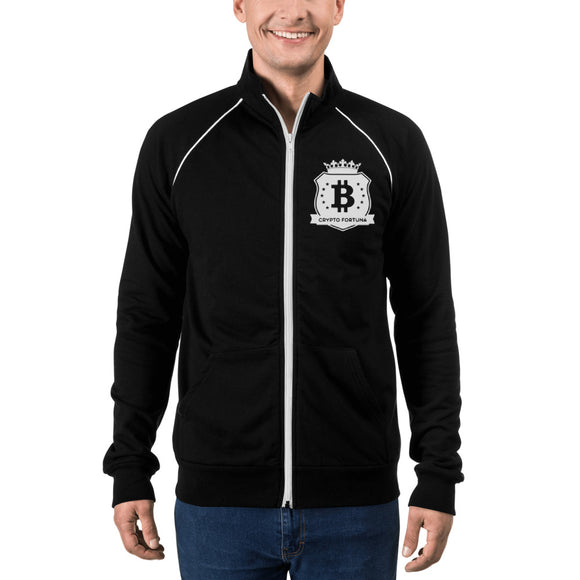 Crypto Fortuna Piped Fleece Jacket