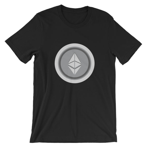 Ethereum coin cryptocurrency Short-Sleeve Unisex T-Shirt